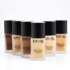 mys makeup base face liquid foundation