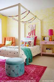 The Cutest Nurseries Kids Rooms Ever Using Wall Stencils Royal Design Studio Stencils