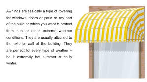 Shade Your Patio With A Diy Awning