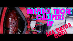 Diy Brembo Vinyl Decals Install To Make Those Cailipers More Pop En Aka Mazda Mods Youtube