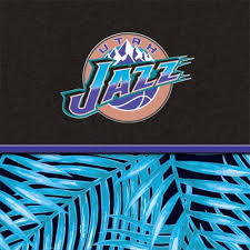 Utah Jazz Retro Palms Home Skin Nba