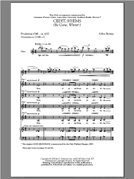 Betinis - Cedit, Hyems (Be Gone, Winter!) sheet music for choir (SSA ...