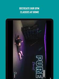puregym on the app