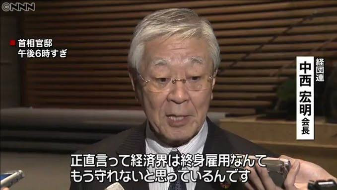 """「経団連 終身雇用制度もう無理」の画像検索結果"""""""