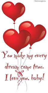 romantic love messages for him with