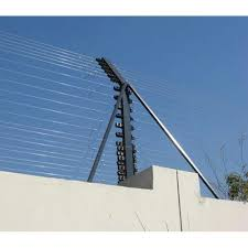 Galvanized Vertical Wall Top Electric Fencing 12g Acsr Hot Dipped Wire Rs 100 Feet Id 15114863212