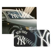 New Mlb New York Yankees Car Truck Windshield Folding Sunshade Large Size 681620868203 Ebay