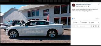 Columbia Police Use Ghost Graphics To Conceal Car The State