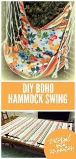 diy hammock swing tutorial tauni everett