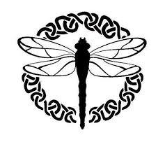 Amazon Com Celtic Dragonfly Vinyl Decal Sticker Handmade