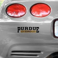 Purdue Boilermakers Dad Car Decal