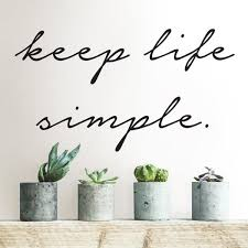 wall pops black keep life simple wall quote decal dwpq the