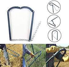 Amazon Com Fence Fixer Fence Post Repair Kit Wire Tight Fence Crimping Tool Electric Fence Wire Horse Fencing