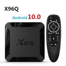 X96Q Smart TV Box Android 10 2GB 16GB Allwinner H313 Quad Core 4K Netflix  X96 Q Mini Media Player pk A95X H96 MAX Set Top Box|