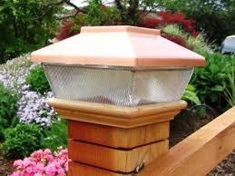 Copper Top Solar Led Light 4 X 4 Post Caps For Bridges Fences Decks Posts Tjb Inc Online Store