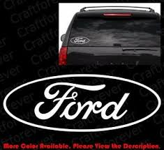 Outline Only Ford Oval Die Cut Car Window Laptop Phone Vinyl Decal Sticker Fd006 Ebay