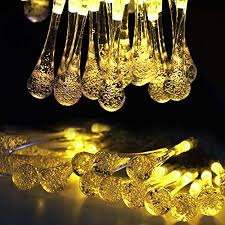 solar string lights outdoor patio