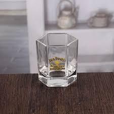 150ml hexagon fine whiskey glasses