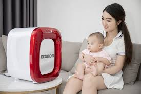 Máy tiệt trùng sấy khô khử mùi bằng tia UV Ecomom ECO-100 Pro
