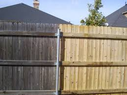 Before And After Power Washing A Fence Nice To See The Natural Wood Color Come Back With Just A Little Tlc From The Paint Guys Wood Fence Cedar Fence Wood