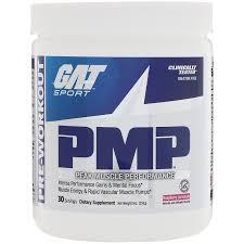 gat pmp pre workout peak muscle