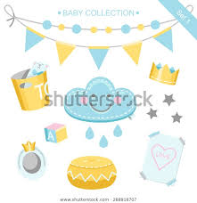 Banner Party Decoration Kids Room Decor Stock Vector Royalty Free 288918707