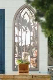 garden wall mirror 190 x 75cm