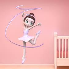 Harriet Bee Princess Fairies Ballerinas Cute Ballerina 1 Wall Decal Wayfair