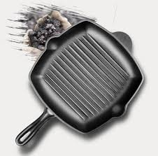 cast iron grill pan for glass top stove