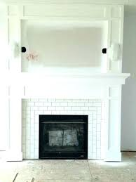 fireplace facing ideas wall decorating