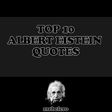 top albert einstein quotes