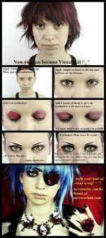 visual kei eye makeup tutorial