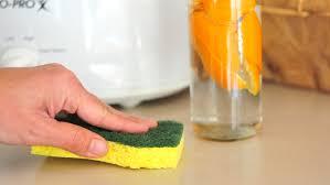 citrus and vinegar household cleaner