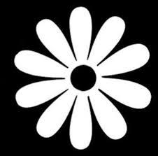 Teal Glitter Flowers Flower Power Daisy Car Sticker Decal Vinyl 01 03 For Sale Online Ebay