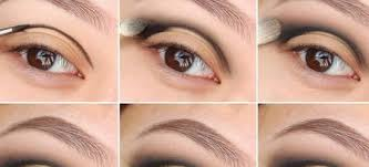 elegant makeup design for brown eyes