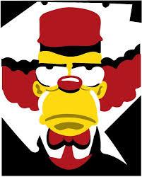 Krusty the clown. | Krusty the clown, The simpsons, Pop art