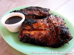 Lutong Cavite : Pan Grilled Tuna Panga