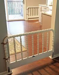 25 Diy Indoor Dog Gate And Pet Barrier Ideas Playbarkrun In 2020 Diy Baby Gate Baby Gates Diy Dog Gate