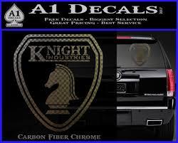 Knightrider Logo Shield Vehicle Decal Sticker Knight Rider A1 Decals