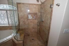 corner tub shower seat master