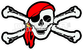 Jolly Roger Pirate Decal Decalmonster Com