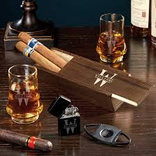 oakmont end whiskey and cigar gift
