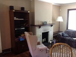 bookshelves transform a living room
