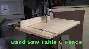Bandsaw Table Fence For Porter Cable 14 Band Saw Ep 2016 02 Youtube