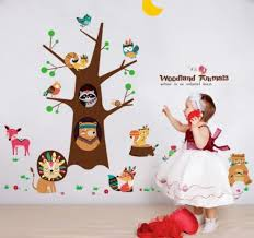 China Hot Sale Lovely Animal Wall Sticker Kids Room Kindergarten Decoration China Wall Sticker And Home Decoration Price