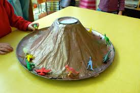 how to make a baking soda volcano mnn