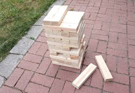 giant jenga diy how to