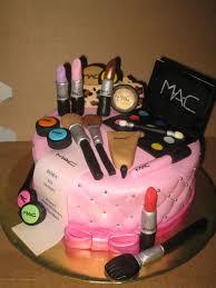 birthday cakes mac makeup cake