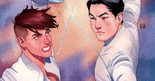 C S Pacat Announces New Comic Series Fence Los Angeles Times