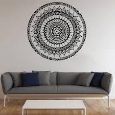 Mandala Symbol Vinyl Decal Mandala Wall Sticker Wall Decals Etsy